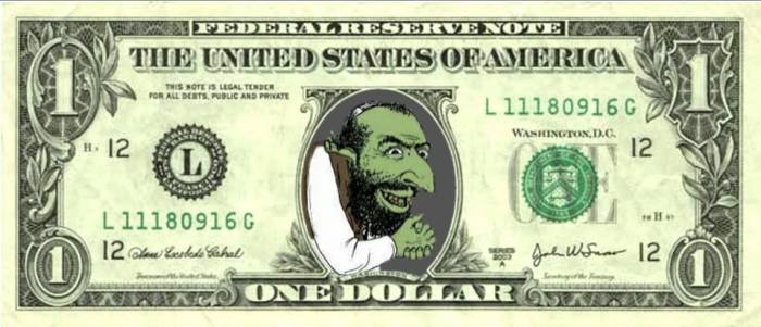 HAPPY MERCHANT AMERICA DOLLAR