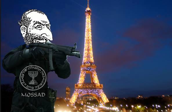 ISIS MOSSAD FRANCE