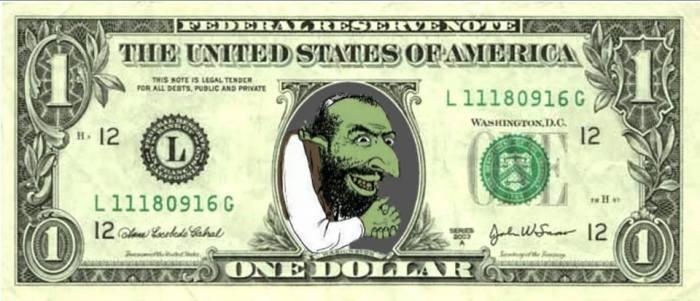 HAPPY MERCHANT AMERICA DOLLAR