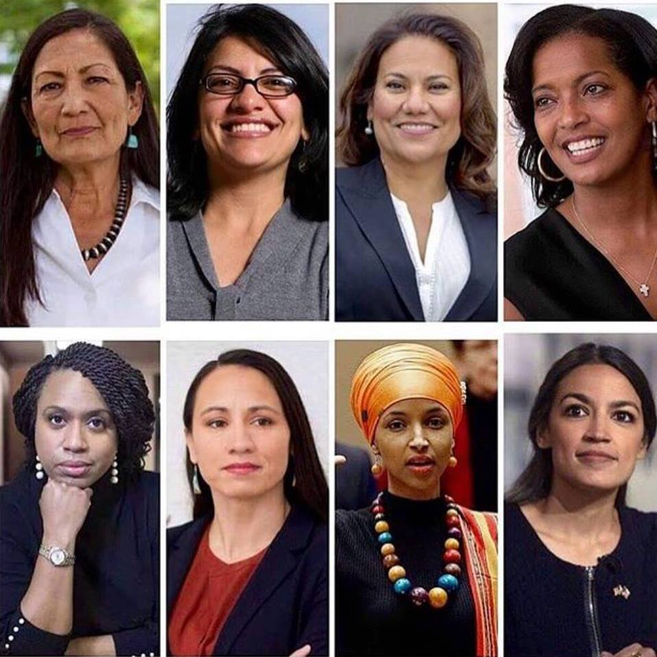 Image result for new women congress vs trump